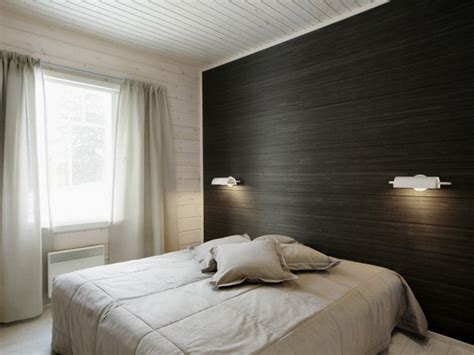accent wallpaper bedroom focusing on one wall in bedroom swedish idea of using