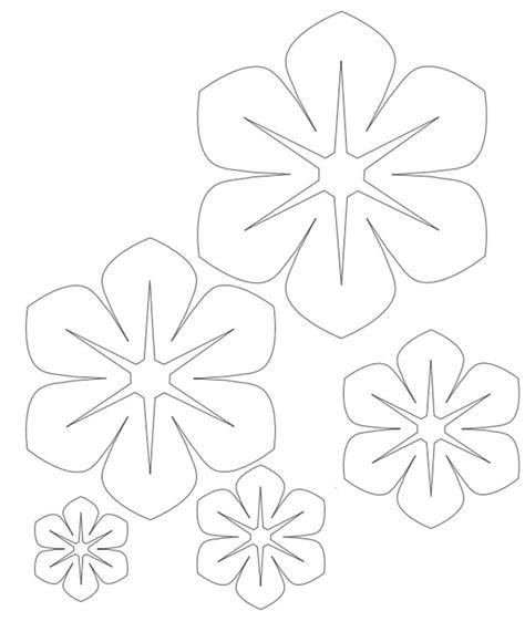 moldes de flores fazendo a minha festa molde da flor de