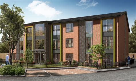 housing trust place north west trafford housing trust begins davyhulme homes build