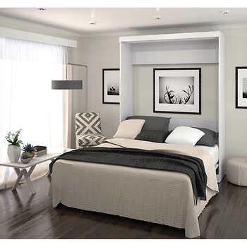 home furniture items boutique queen wall bed in white