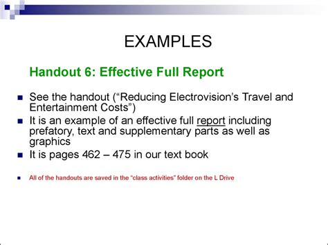 Business Letters And Reports Ppt writing reports and proposals ppt