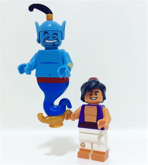 Lego Disney Minifigure Genie the genie minigofigure lego