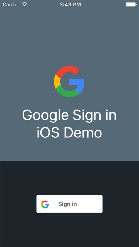 design google sign try sign in for ios google sign in for ios google