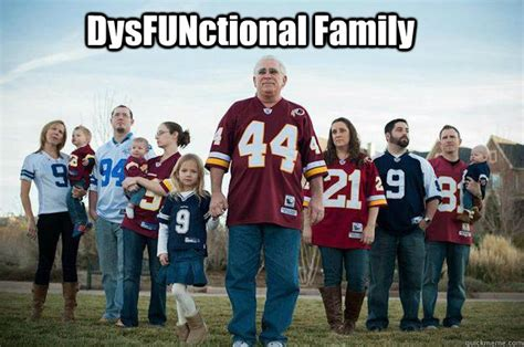 Cowboys Redskins Meme - dysfunctional family cowboys and redskins quickmeme