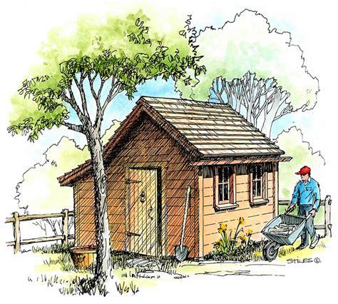 potting shed plans b4ubuild potting shed plans