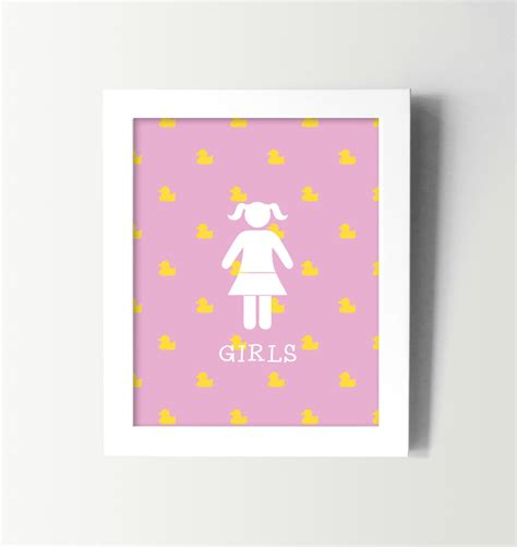kids bathroom wall decor little girls bathroom sign kids bathroom wall art kids
