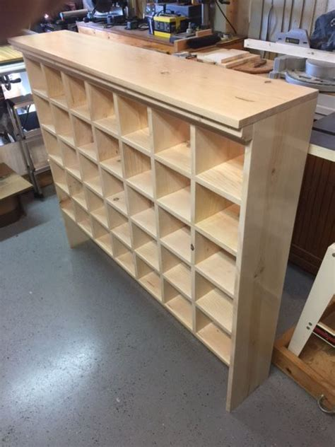 shoe cubby mail sorter style reader update
