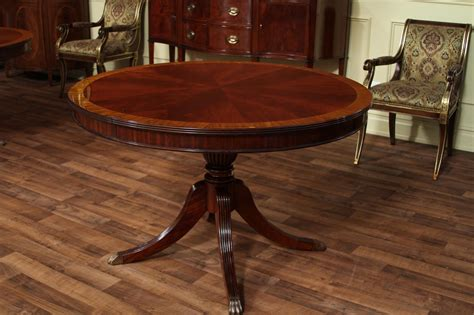 Mahogany Kitchen Table 48 Dining Table With Leaf Mahogany Dining Table