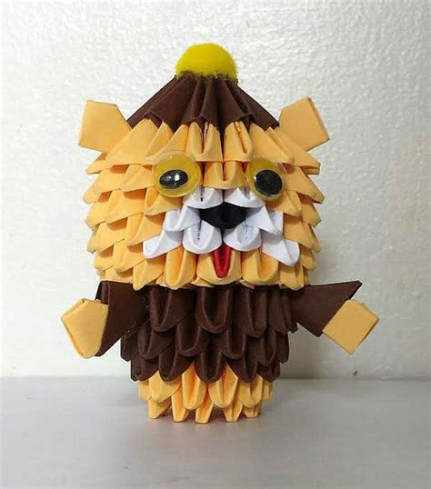 Origami Teddy - 1000 images about キャラクター on