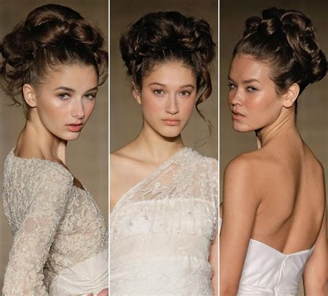 Hepburn Inspired Wedding Hairstyles by Chic Chignons For Hepburn Inspired Bridal Hairstyles