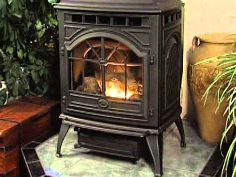quadra fire castile pellet stove youtube