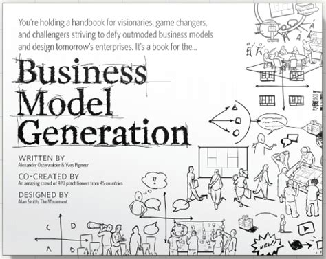 Amazoncom Alexander Osterwalder Books Biography Blog | welcome to the business model generation stocker partnership