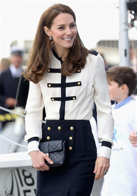 Style Kates Blouse by Kate Middleton Goes Casual In A Jumper And Trainers