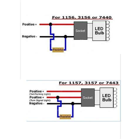 load resistor alternative led turn signal resistor wiring diagram led load resistor wiring diagram