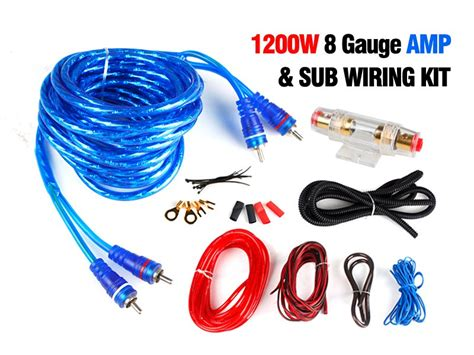 sub wiring kit 1200w 8 sub wiring kit sales we