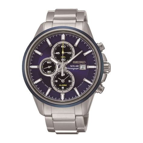 buy seiko s solar chronograph ssc253p1 at j