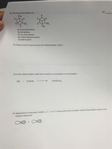 solved label each molecule drawn below as cis trans or neith