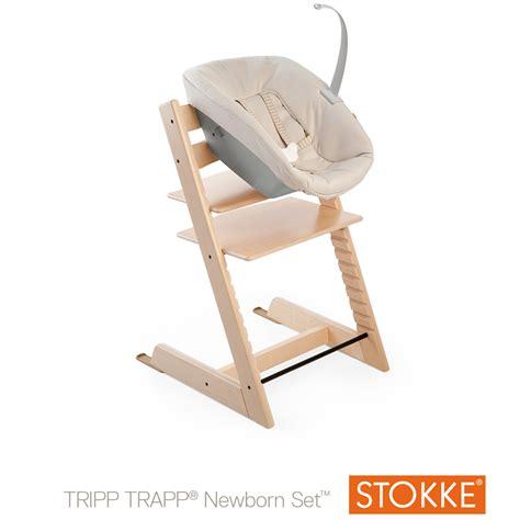 stokke chaise haute tripp trapp 174 newborn set beige de stokke 174 chaises hautes