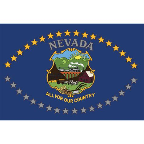 nevada flag    country