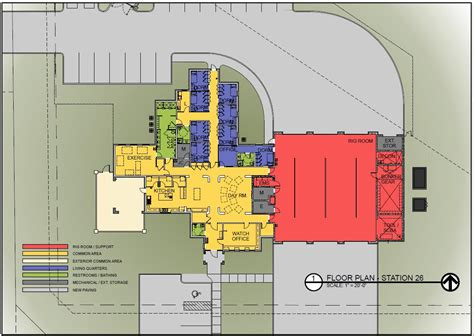firehouse floor plans volunteer fire station floor plans google search fire