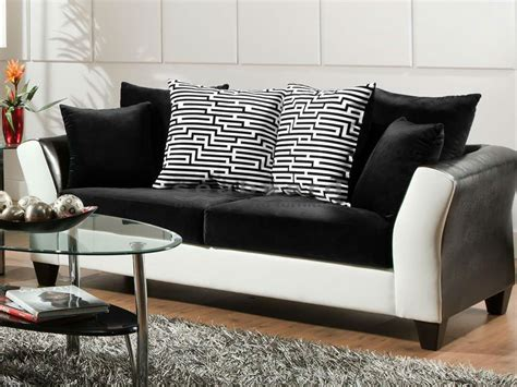 and white sofa set magnificent black and white living room set designs