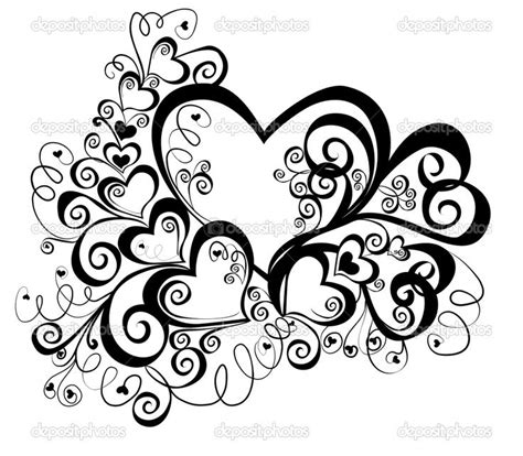 heart design coloring page heart coloring pages for teenagers heart with floral