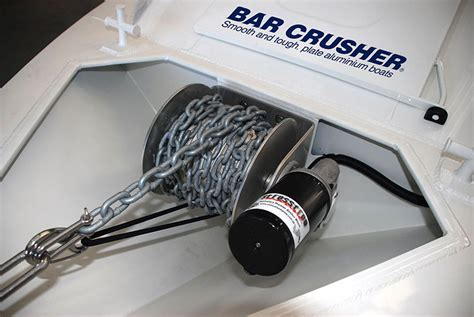boat launch winch stress free boating from bar crusher bar crusher boats