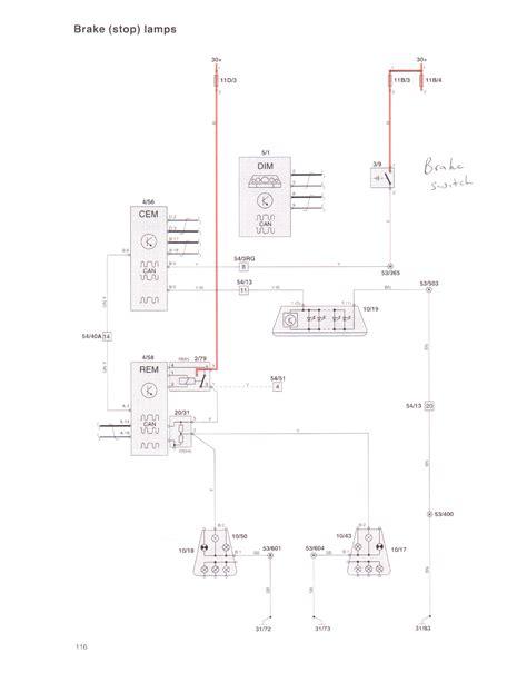 volvo xc90 brake light wiring diagram html