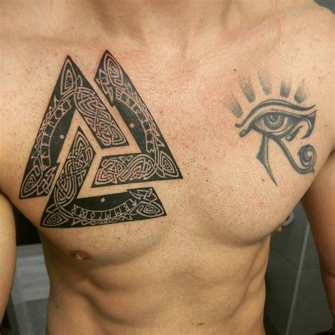 valknut tattoo designs valknut tattoos viking