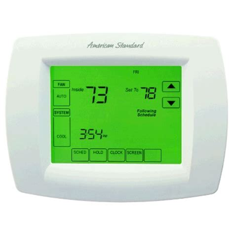 simple comfort 2010 thermostat programmable thermostats mini split air conditioning