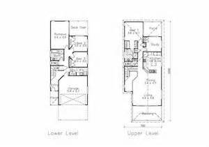 long thin house plans narrow lot house plans small house plans with garage 10105