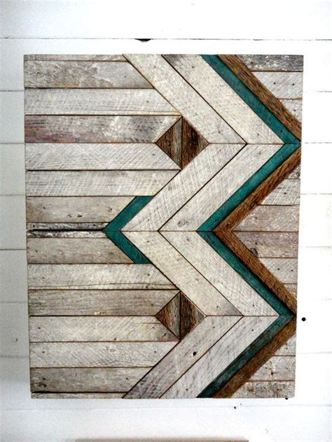 chevron pattern reclaimed wood reclaimed wood chevron wall hanging