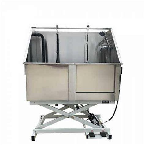 vasca toelettatura vasca da toelettatura elettrica in acciaio inox per