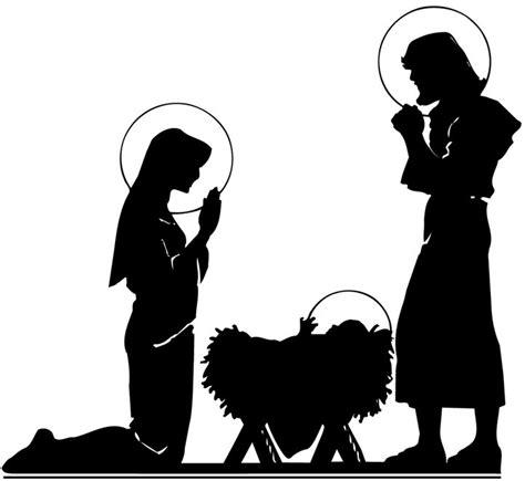 printable nativity scene silhouette nativity scene silhouette printable www imgkid com the