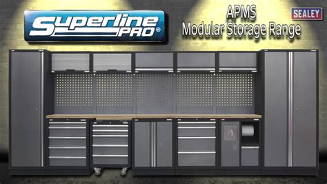 Sealey APMS Superline Pro Storage Range   YouTube