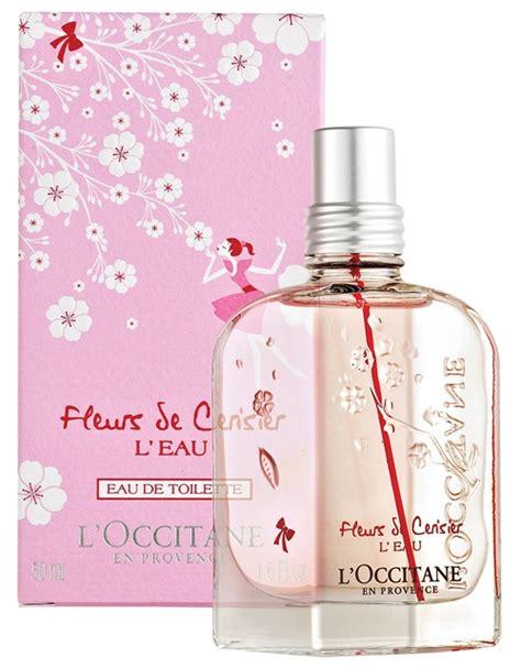 l occitane en provence fleurs de cerisier l eau new fragrances