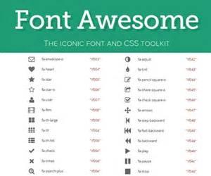 font awesome color lista completa de iconos de font awesome