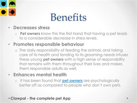 7 Benefits Of Owning A Pet by Ppt 7 Benefits Of Owning A Pet Powerpoint Presentation