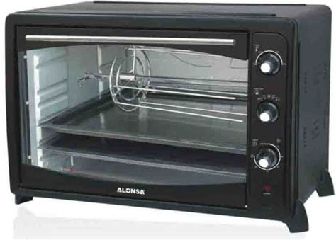 Oven The Baker 100 Liter alonsa 100 liter electric grill oven black al 712 review and buy in dubai abu dhabi and rest