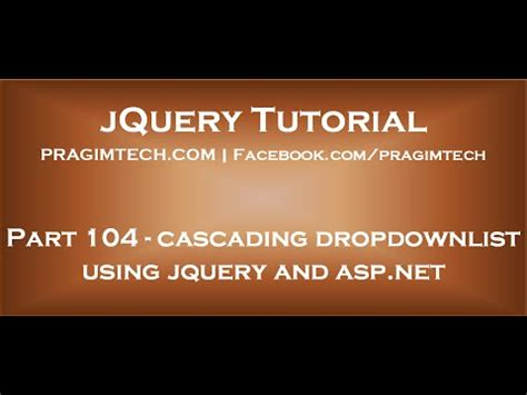 jquery tutorial kudvenkat vote no on multiple selection dropdownlist in asp