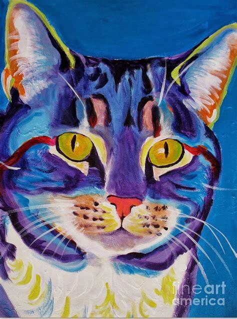 pintura moderna y fotograf 237 a art 237 stica im 225 genes dibujo de gato en pinturas de gato arte con m 225 s de