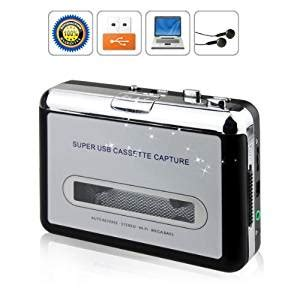 convertitore cassette mp3 bw portable to pc cassette to mp3 cd usb converter