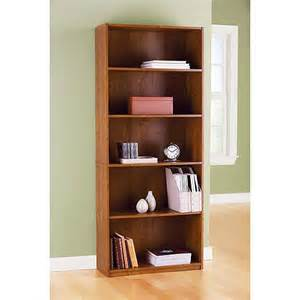 walmart bookshelves 5 shelf bookcase walmart