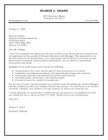 Resume Cover Letter Samples cover letter sample operations sample cover letter
