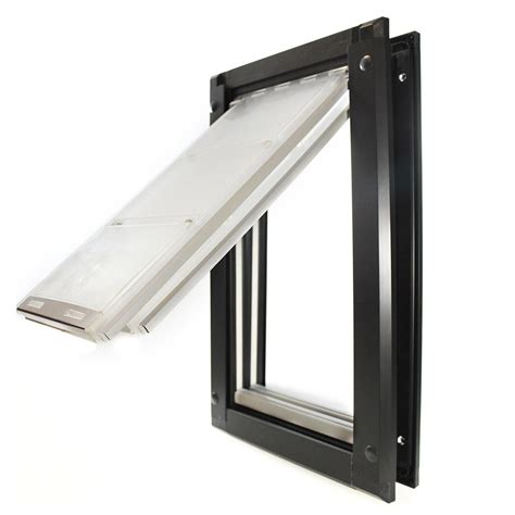 door flaps endura flap 8 in x 15 in medium single flap for doors pet door with aluminum