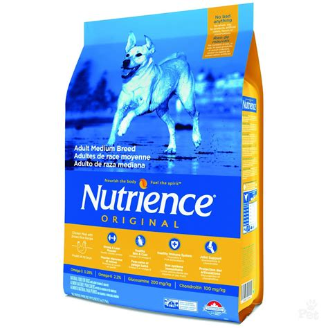 original breeds nutrience medium breed original food