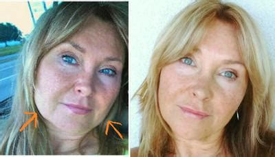hairstyles for an aging face with jowls how to fix sagging face and skin around cheeks and jowls
