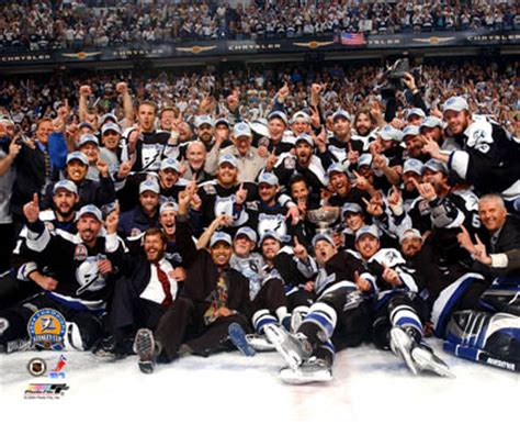 Lighting Roster by 2004 Stanley Cup Photos