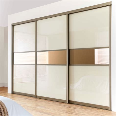 buy wardrobe sliding fitting for 3 doors overlap with