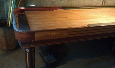 antique shuffleboard table for sale shuffleboard tables